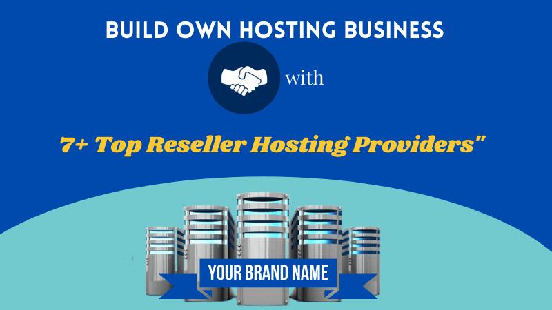 top reseller web hosting companies
