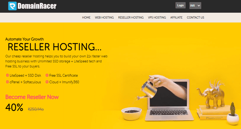 affordable white label reseller hosting provider