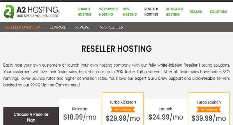best WHM reseller hosting provider