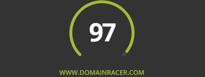 look domainracer best ssd web hosting grade