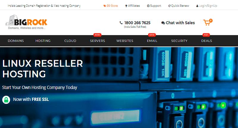 reliable reseller web hosting platform