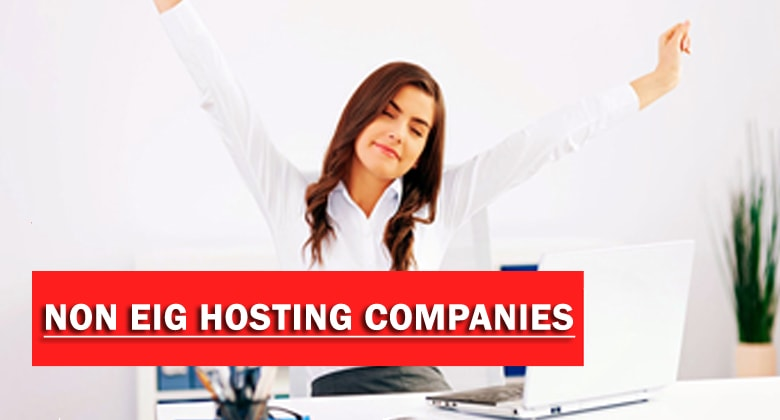 hosting companies not owned by eig