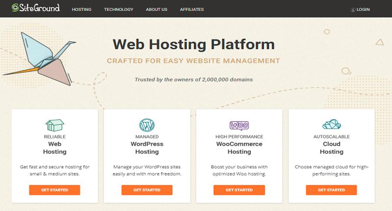 top rated non eig hosting platform