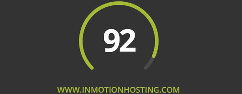 ssd web hosting service inmotion grade
